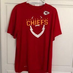 XL Dri Fit Kansas City Chiefs TShirt